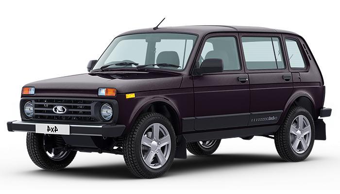 Lada 4x4 5dv 2020